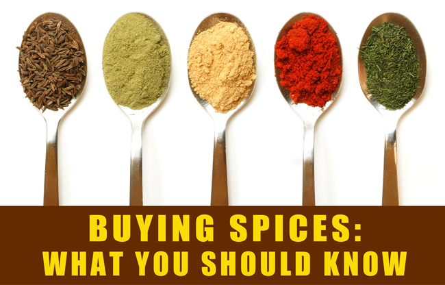 Buying Spices: What You Should Know