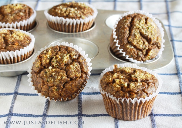 Good Morning Muffins (Carrot Zucchini Muffins)
