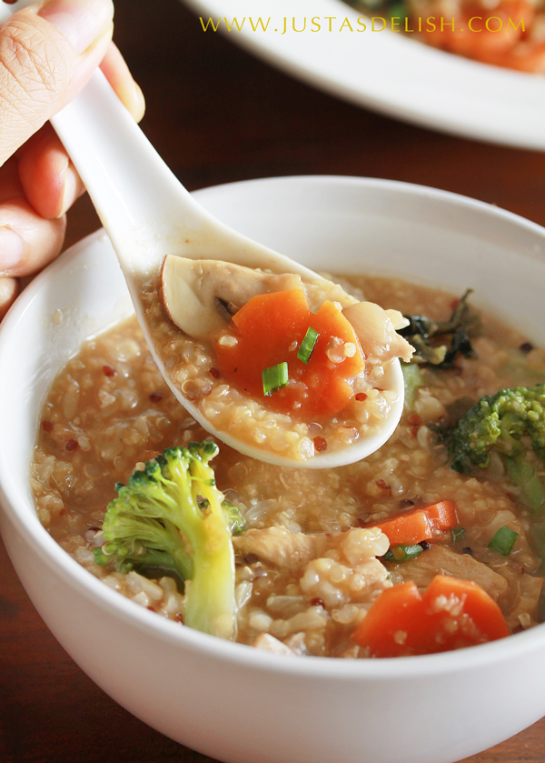 Hearty 1-pot Multigrain Miso Porridge