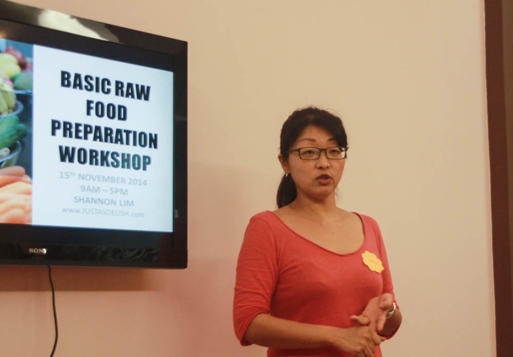 Raw Food Workshop 2014