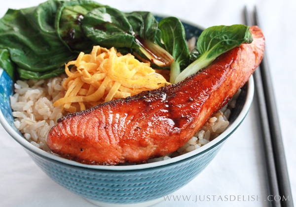 Teriyaki Salmon Bowl