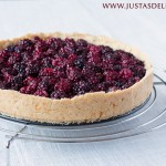 Wild Berry Tart with Buckwheat Almond Crust (Gluten Free)