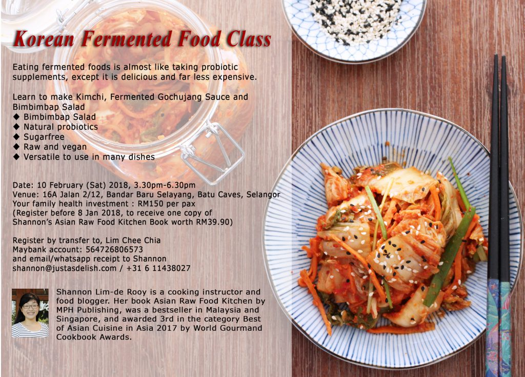 Korean Fermented Food Class