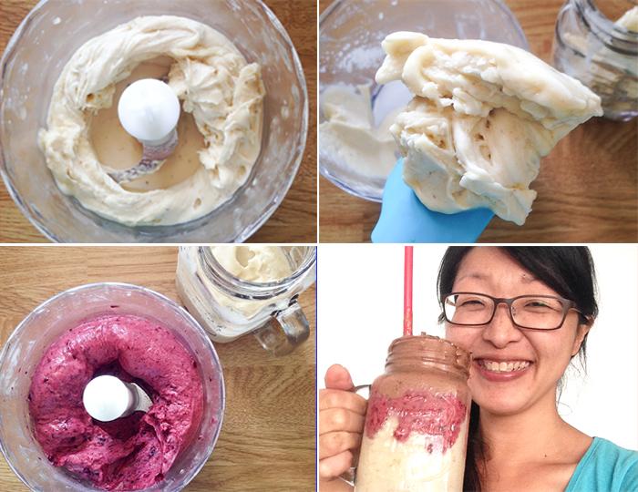 Neapolitan Nice-Cream | JustAsDelish.com