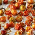 Confit Tomatoes & Roasted Capsicum