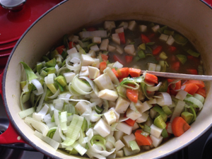 Dutch Split Pea Soup (Erwtensoep) - Justasdelish.com