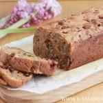Gluten Free Persimmon Bread-Cake (Low Sugar)
