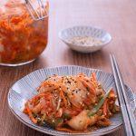 Mak Kimchi (Quick Cabbage Kimchi)