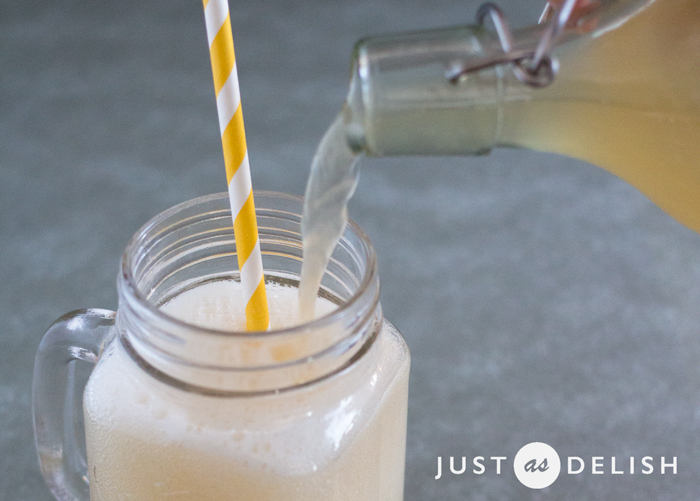 Water Kefir Soda | JustAsDelish.com