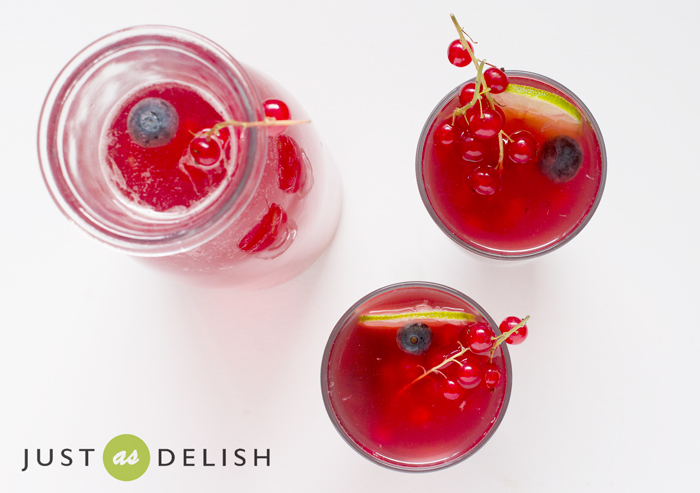 Non Alcoholic Kefir Sangria | Just As Delish