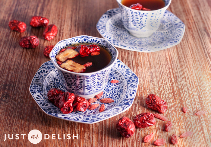 Nourishing Red Dates Tea | Just As Delish